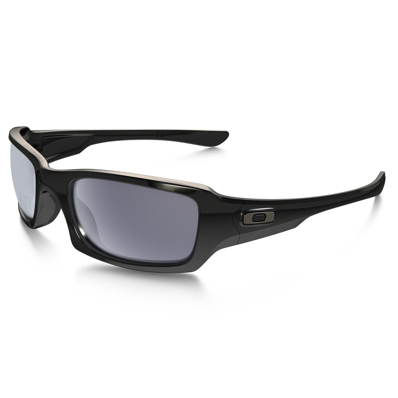 Oakley Sportbrille »Fives Squared«, schwarz, schwarz