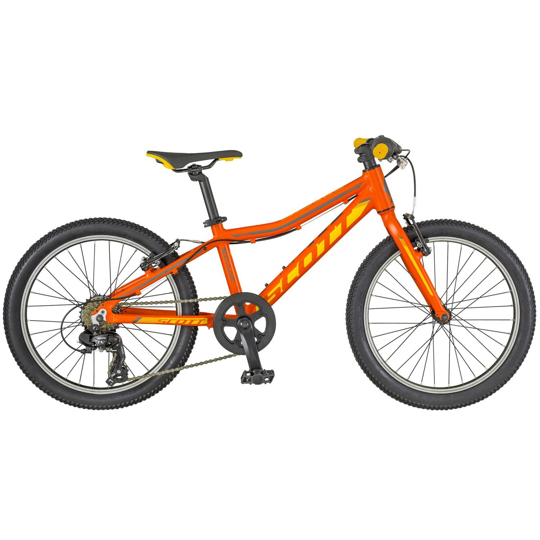 Scott Scale JR 20 Kinderrad Mountainbike mit Starrgabel 20 Zoll ...