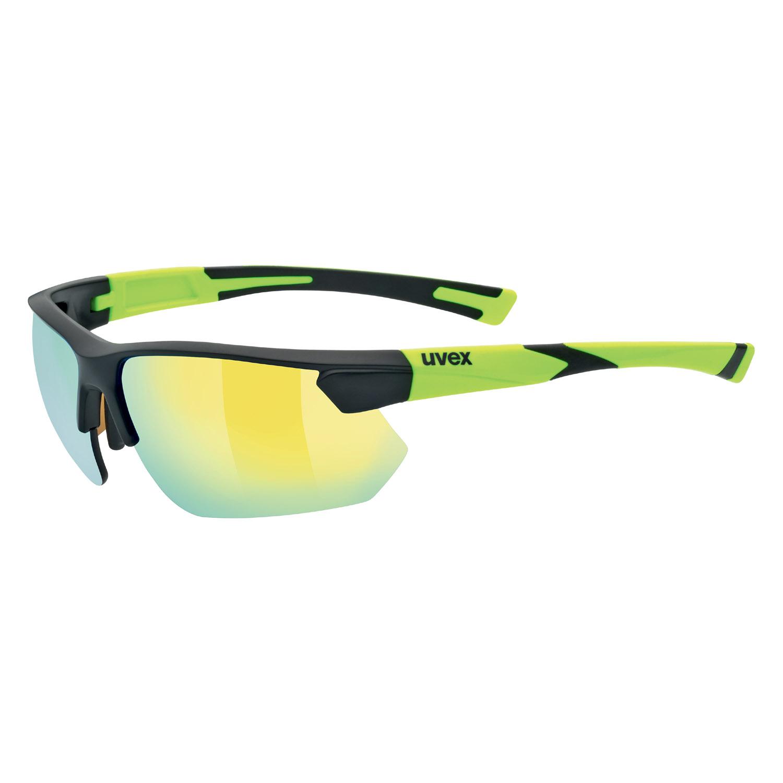 Uvex Sportbrille »sportstyle 221 Glasses«, schwarz, schwarz