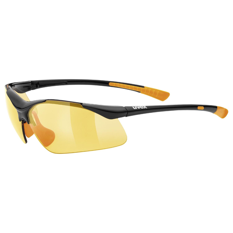 Uvex Sportstyle 223 Sportbrille Schwarz/Orange 8mhW31XA4t