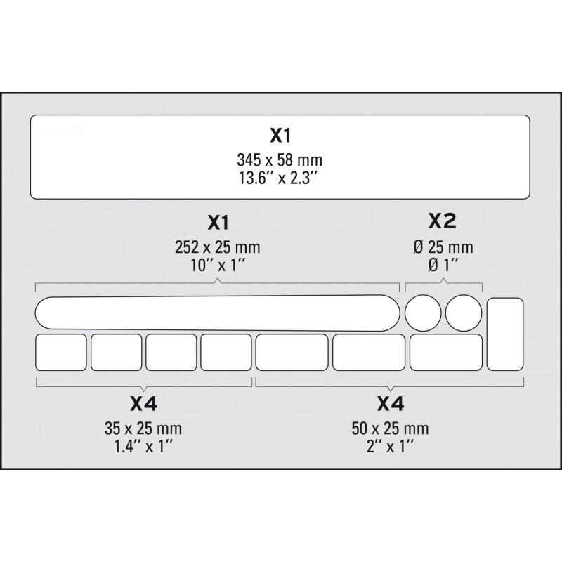 Zefal Skin Armor M Rahmenschutzfolie | Online Shop | Zweirad Stadler