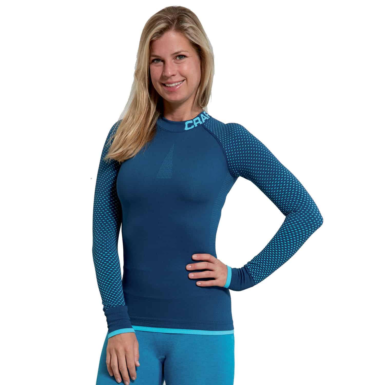 the best attitude 4ff3c 12639 Craft Warm Intensity Langarm-Unterhemd Damen