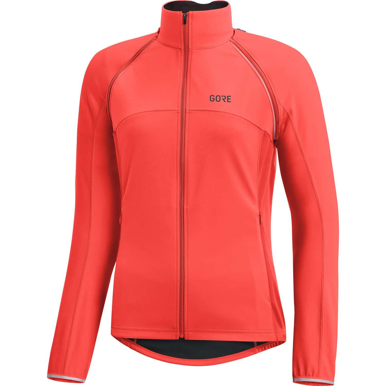Schnäppchen für Mode Bestbewerteter Rabatt 50% Preis Gore C3 Windstopper Phantom Zip Off Fahrrad-Windjacke Damen