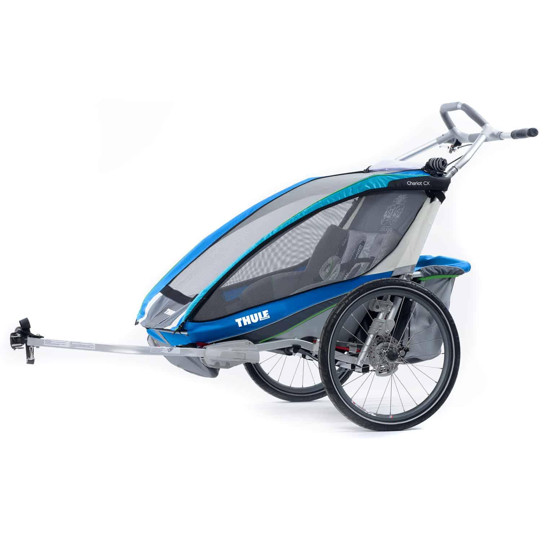 Thule Chariot Cx2 Inkl Fahrradset 2016 Online Shop Zweirad