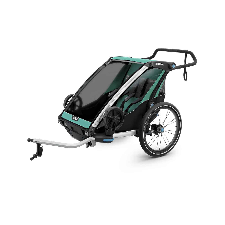 Thule Chariot Lite 2 Kinderanhanger 2020 Blue Grass Black