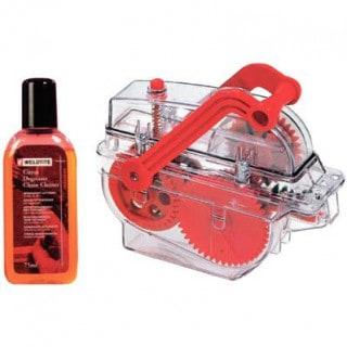 Weldtite Kettenreinigungsgerät + Bike Wash Citrus Degreaser (75 ml)