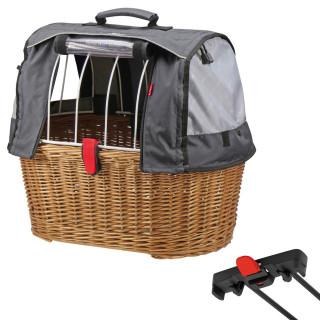 Klickfix Doggy Basket Plus für Racktime mit Wetterschutz