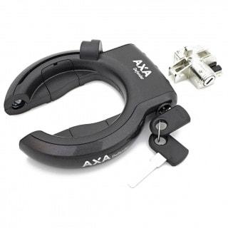 AXA Rahmenschloss und Schloss für Rahmenakku Bosch2 Set