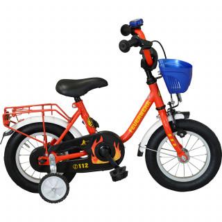 Streety Feuerwehr Kinderrad 12 Zoll