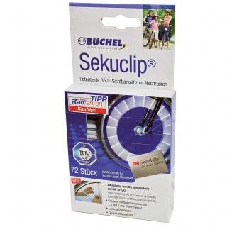Büchel Sekuclips kompakt Speichenreflektoren (72 Stk.)
