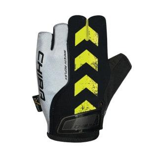 Chiba Safety Reflex Fahrrad Handschuhe kurz