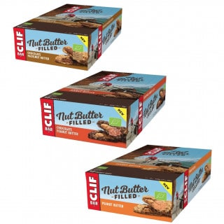 Clif Bar Nut Butter Filled Energie-Riegel Box (12 x 50 g)