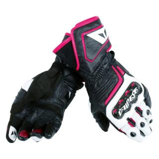 Dainese Carbon D1 Long Motorradhandschuh Leder Damen