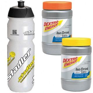 Dextro Energy Set 2 x Iso Drink (440 g) + Trinkflasche (750 ml)