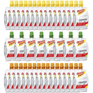 Dextro Energy Liquid Gel Box 3 Sorten (40 x 60 ml) MHD 30.08.2020