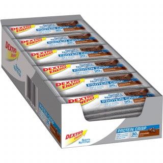Dextro Energy Protein Crisp Riegel Box (24 x 50 g)
