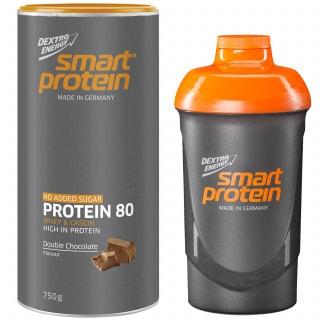 Dextro Energy Smart Protein Eiweiß-Pulver (750 g) inkl. Shaker