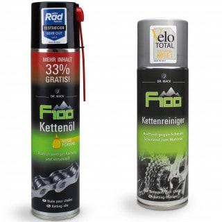 Dr. Wack F100 Kettenöl (400 ml) + Kettenreiniger (300 ml)