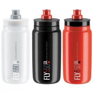 Elite Fly Fahrrad-Trinkflasche (550 ml)