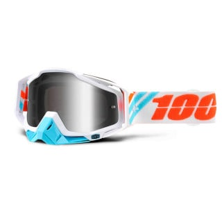 100% Racecraft Extra Calculus Ice Crossbrille