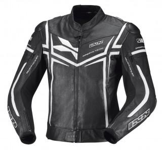 IXS Sting Lederjacke schwarz-weiß