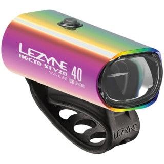 Lezyne Hecto Drive STVZO 40 Neo Metallic Fahrrad-Frontlicht