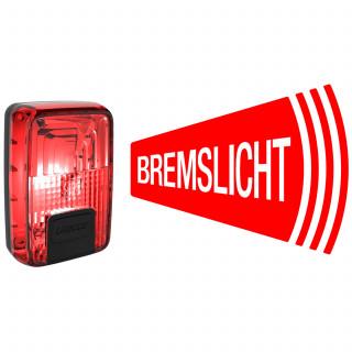 Litecco G-Ray Fahrradrücklicht mit Bremslichtfunktion
