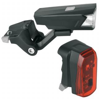 MonkeyLink ML Phenon Nuuk 30 Lux Recharge Fahrrad-Beleuchtungsset