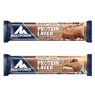 Multipower Protein Layer Eiweiß-Riegel (50 g)