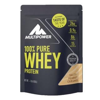 Multipower 100 % Pure Whey Protein Pulver Salty Peanut Caramel (450 g)