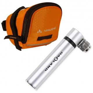 Oakland Alumicro Pocketpump Minipumpe + Vaude SE Race Light L Satteltasche