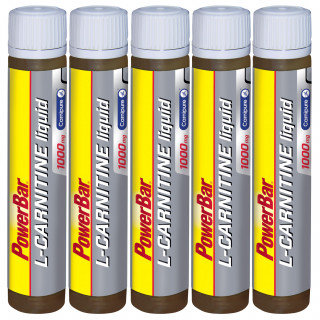 Powerbar L-Carnitin Liquid Ampulle Fünferpack (5 x 25 ml)