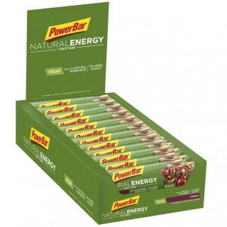 Powerbar Natural Energy Fruit Energieriegel Box (24 x 40 g)