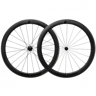 Profile Design 1/Fifty Full Carbon Clincher Rennrad-Laufradsatz