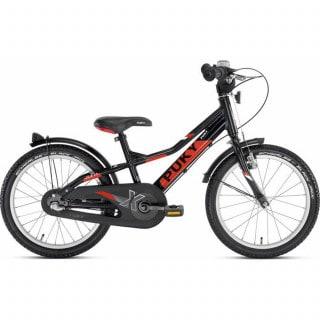 """Puky ZLX 18-3 Alu Kinderrad 18"""" schwarz-rot"""
