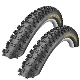 Schwalbe Hans Dampf Evo SnakeSkin PaceStar MTB-Reifen Set (27,5 Zoll)