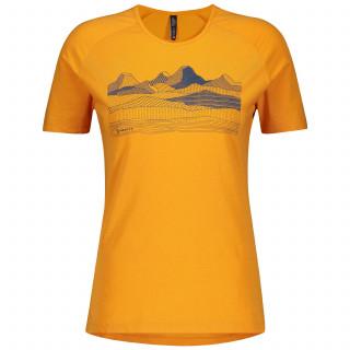 Scott Trail MTN Dri Graphic Rad Shirt kurzarm Damen
