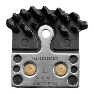Shimano BR-M9000 J04C MTB Scheibenbremsbeläge mit Kühlrippen