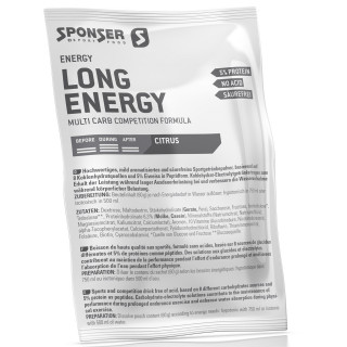 Sponser Long Energy 5 % Kohlenhydrat-Pulver (700 g)