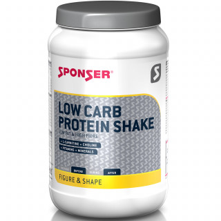 Sponser Low Carb Protein Shake Eiweißpulver (550 g)