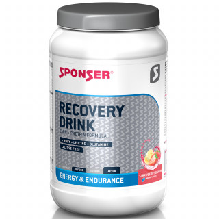 Sponser Recovery Drink Dose (1200 g) Strawberry-Banana
