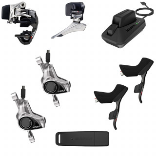 SRAM Red eTAP Kit hydraulisch Standard-Scheibenbremsaufnahme