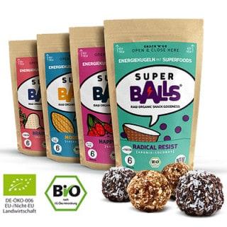 Super Balls Rohkost-Energiekugeln (48 g)