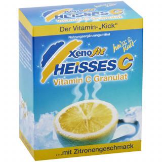 Xenofit Heißes C Vitamin-C-Getränkepulver Packung (10 x 9 g)