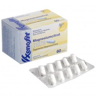 Xenofit Magnesiumcitrat pure Tabletten (61,2 g)