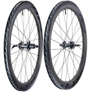 """Zipp 404 Firecrest Carbon Clincher Tubeless Disc Rennrad-Laufradsatz (28"""") Decals schwarz"""