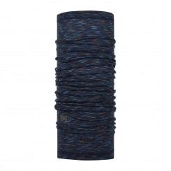 Buff Merino Wool Denim Multi Stripes Multifunktionstuch