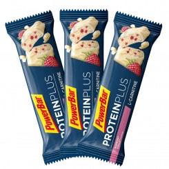 Powerbar Protein Plus + L-Carnitin Eiweißriegel 3er-Set (3 x 35 g) Himbeer-Joghurt