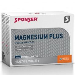 Sponser Magnesium Plus Mineraldrink-Getränkepulver (20 x 6,5 g)