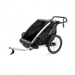 Thule Chariot Lite 2 Kinderanhänger (2021) Blue Grass-Black